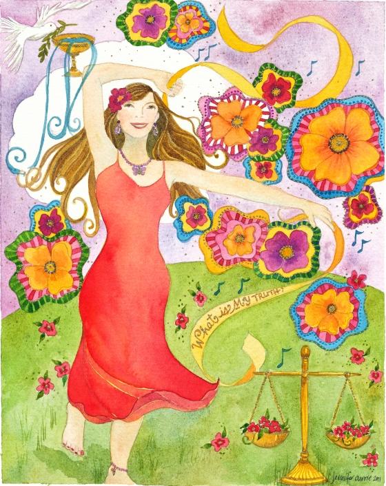 Dance yourself into an abundant space