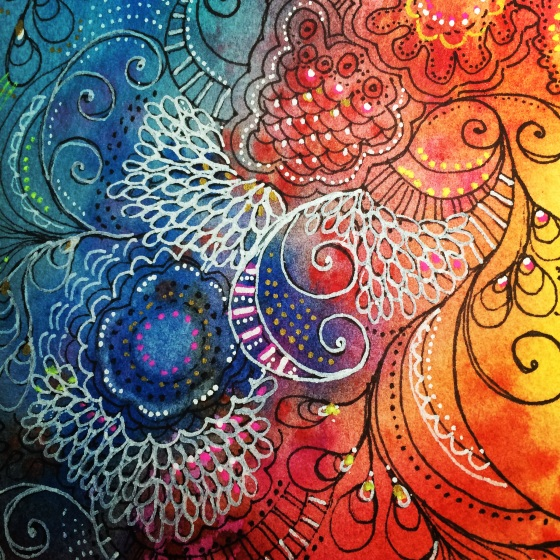 Intuitive Doodling: Stretching the Right-Brain