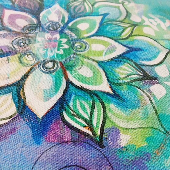 Blue Mandala, Jennifer Currie
